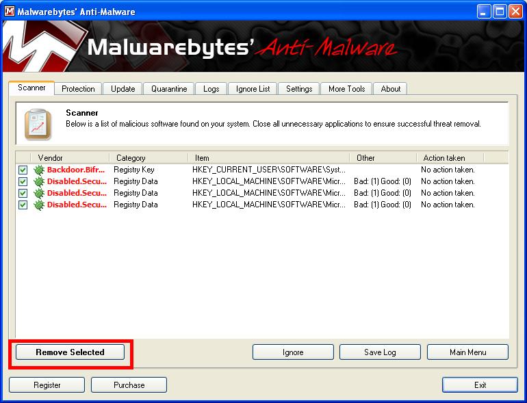 Malwarebytes ### Step3