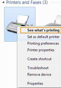 ดูงานที่กำลังพิมพ์อยู่ (See what's printing)